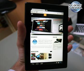 tablette ecran 7 pouces