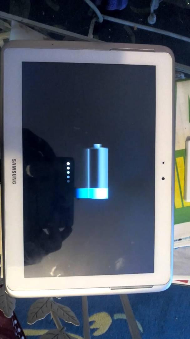 tablette samsung ne charge plus