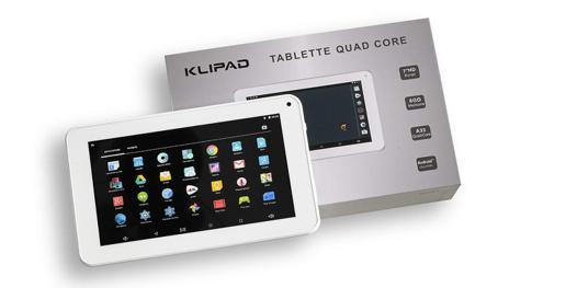 tablette tactile klipad