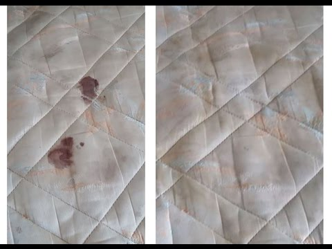 tache de sang séché sur matelas