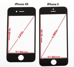 taille ecran iphone 4 en pouce