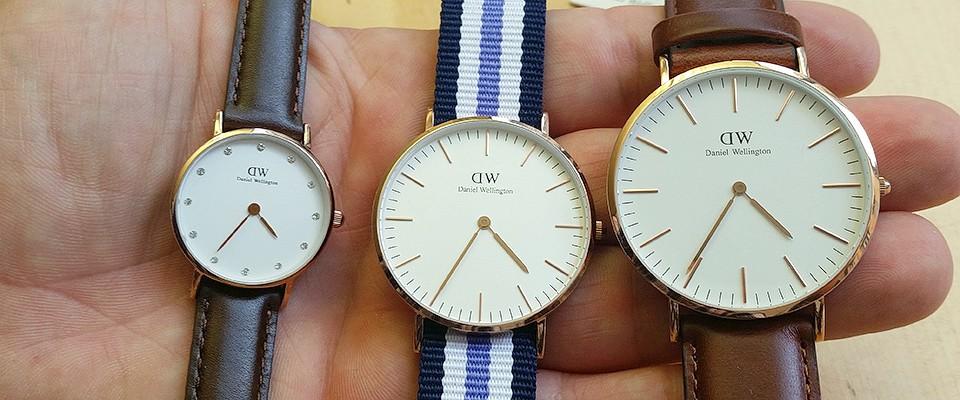 taille montre daniel wellington