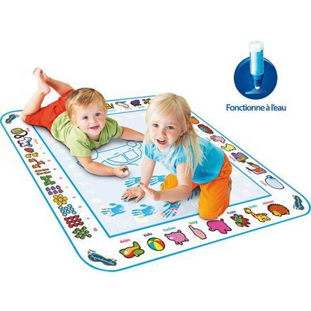 tapis aquadoodle bleu