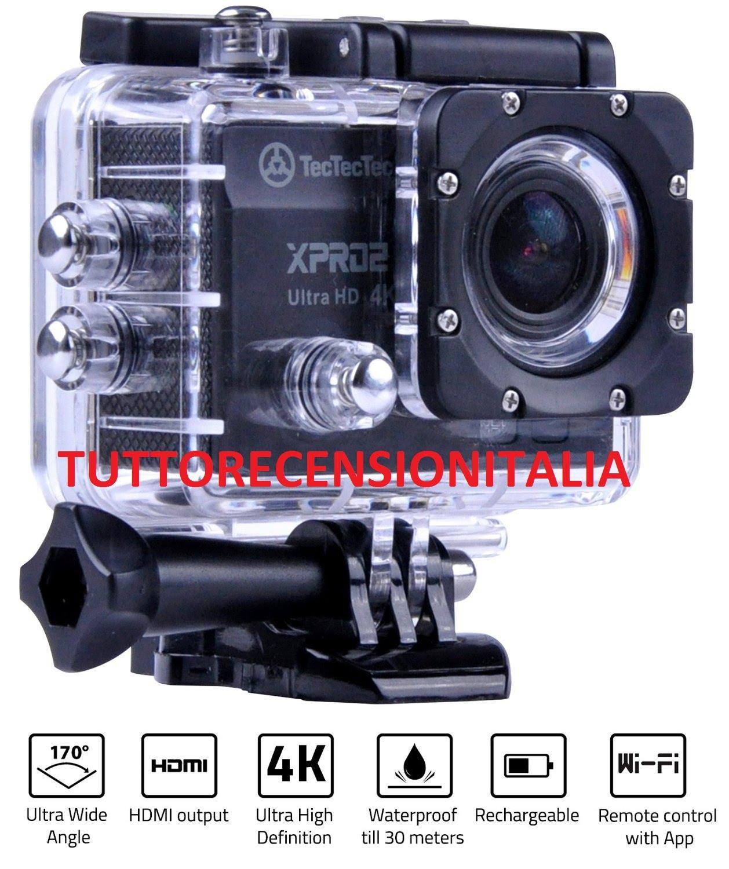 tectectec xpro2 caméra sport 4k ultra hd wifi