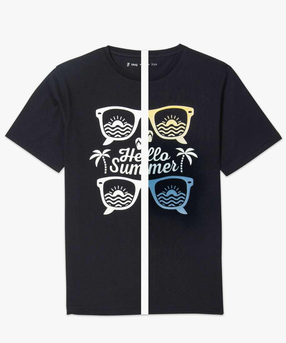 tee shirt adolescent garçon