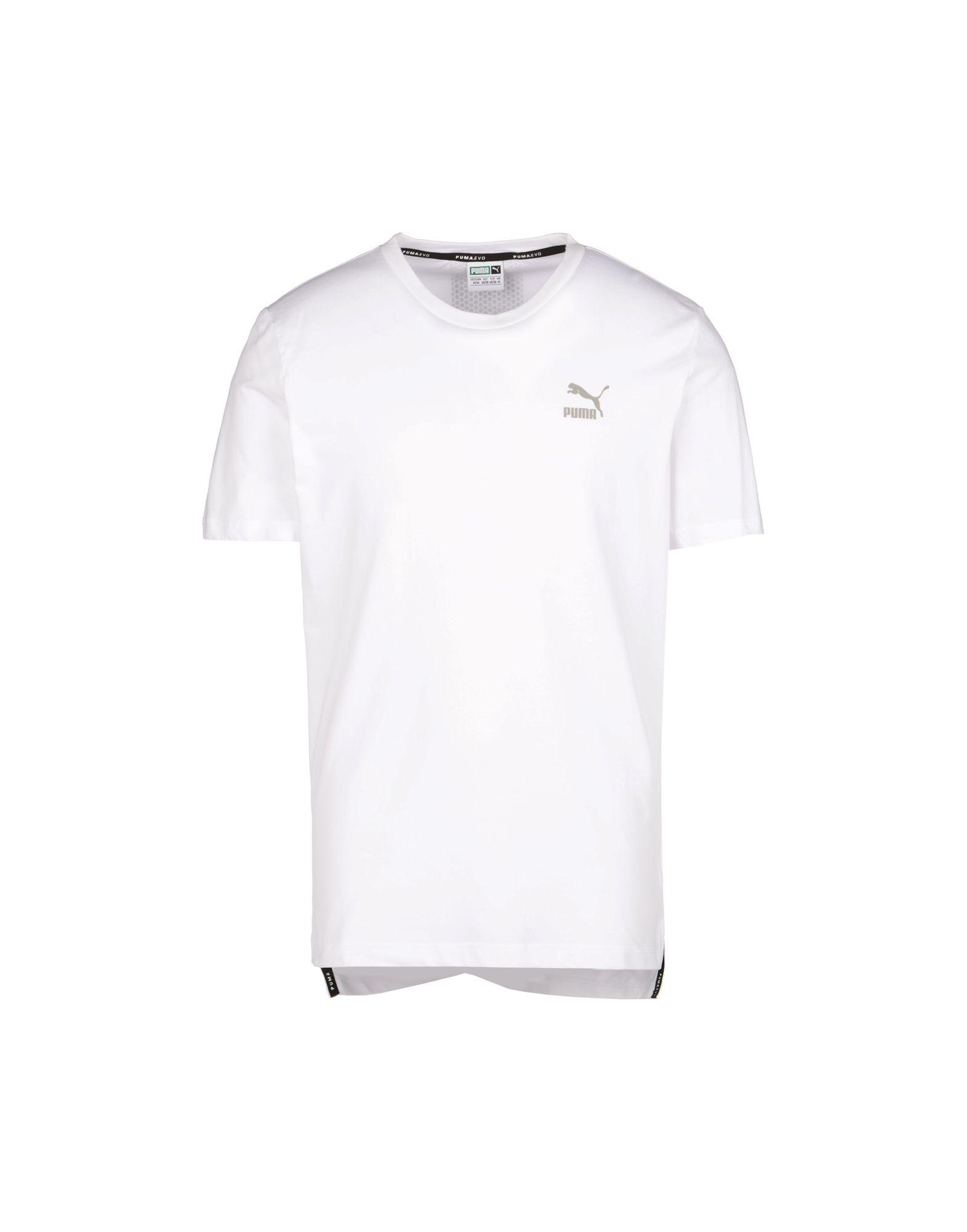 tee shirt puma blanc