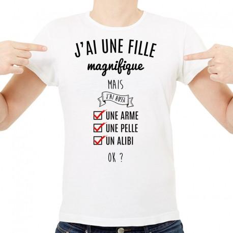 tee shirt uni fille