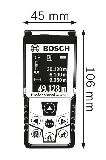 telemetre bosch glm 50