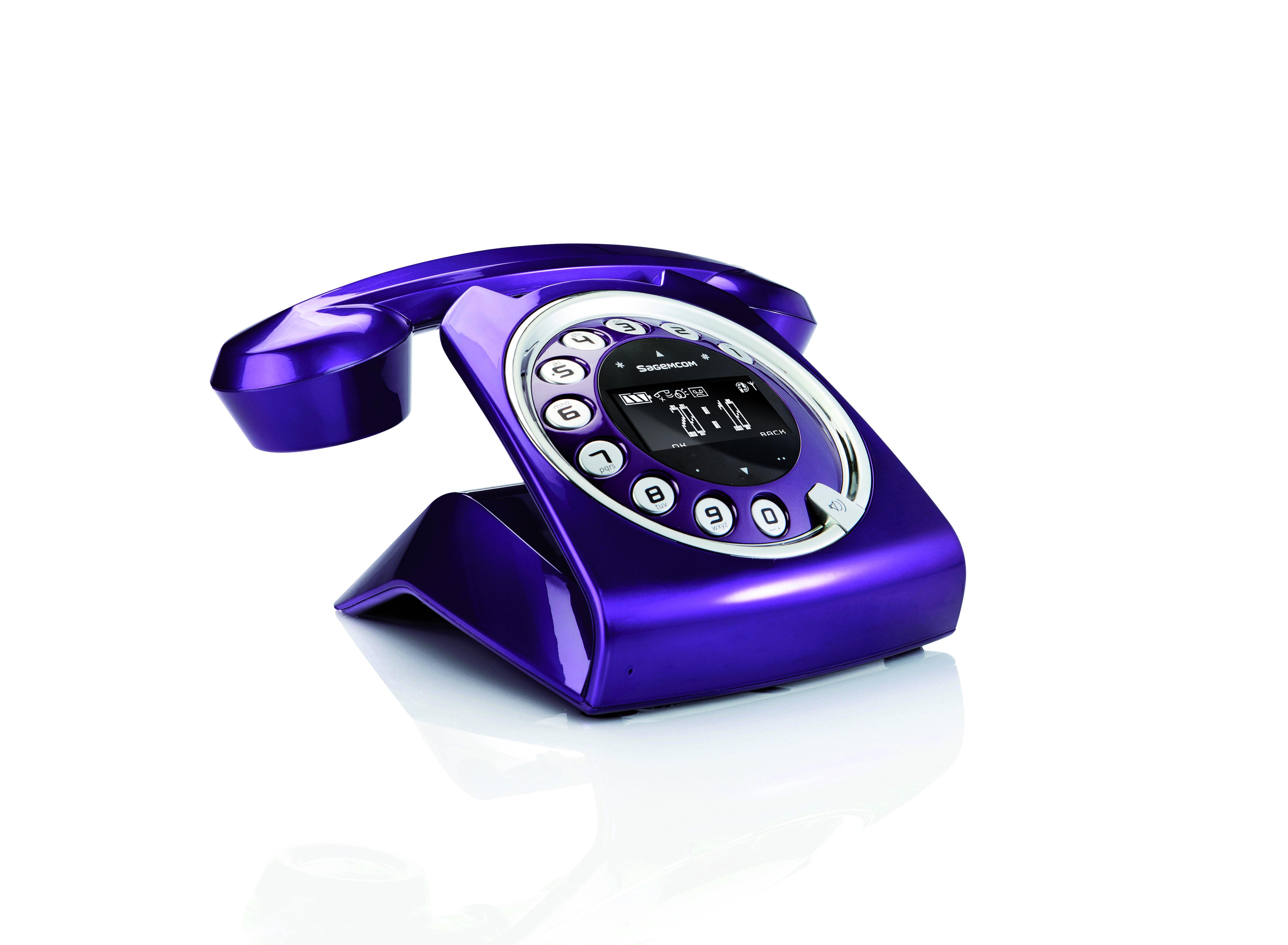 telephone fixe design retro
