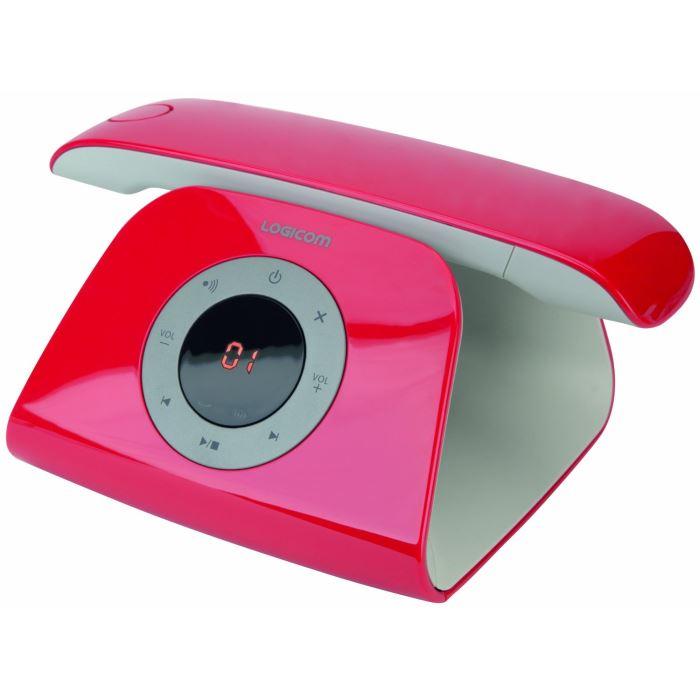 telephone sans fil design avec repondeur