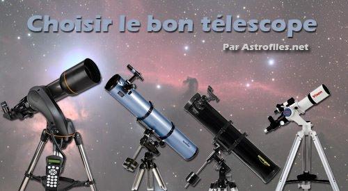 telescope comparatif