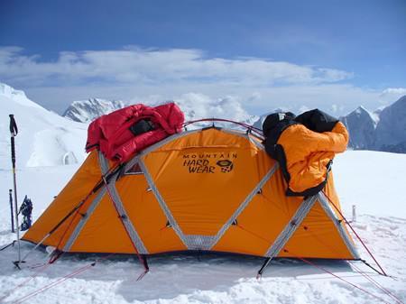 tente pour haute montagne