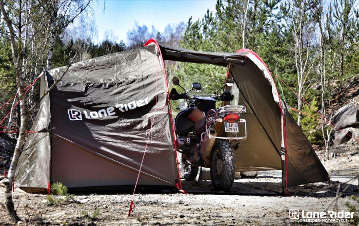 tente pour moto