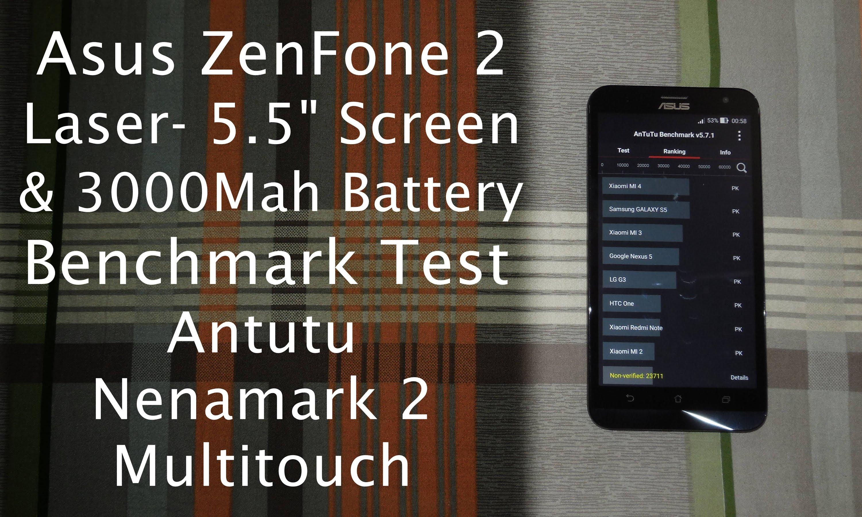 test asus zenfone 2 laser ze550kl