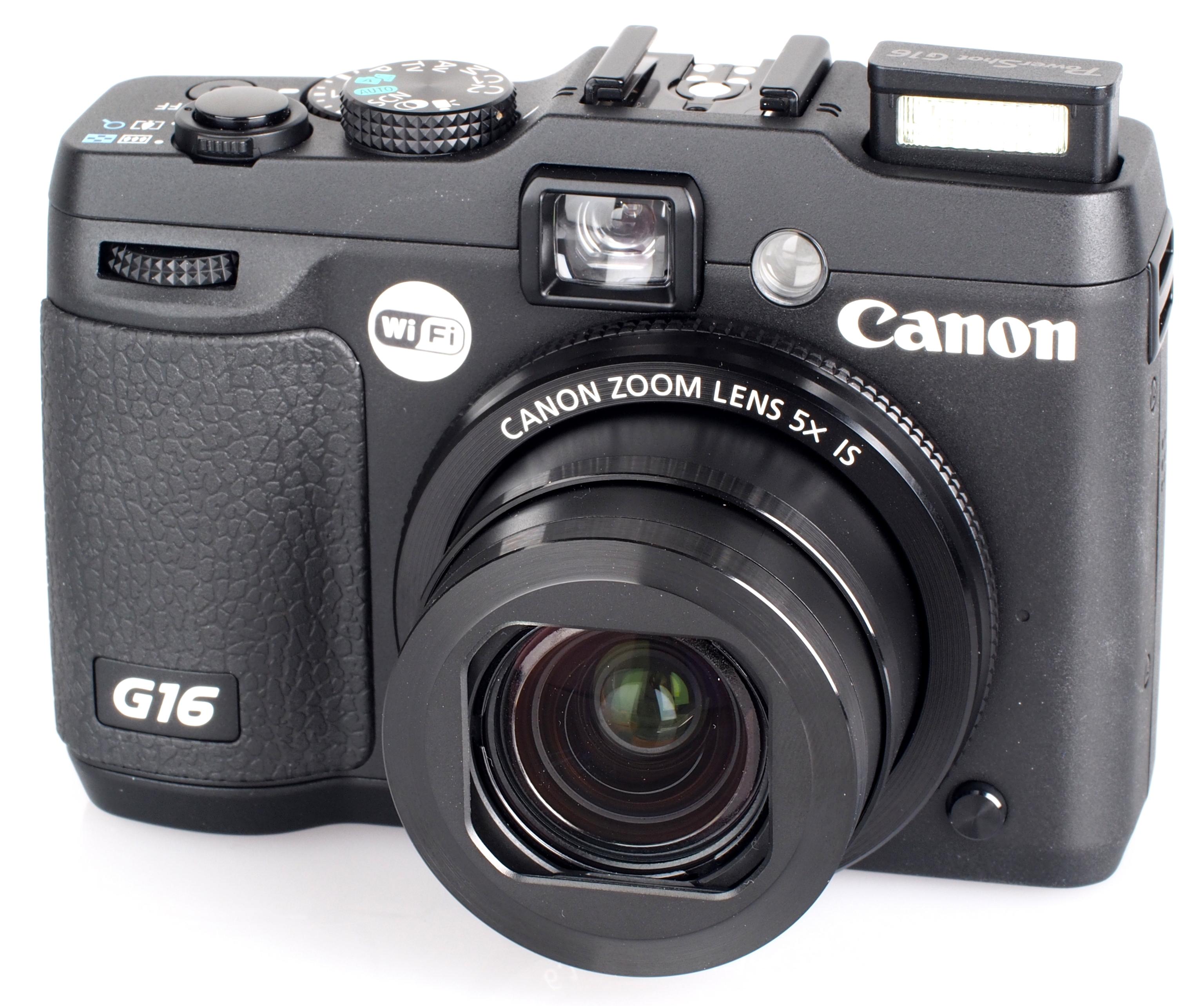 test canon powershot g16