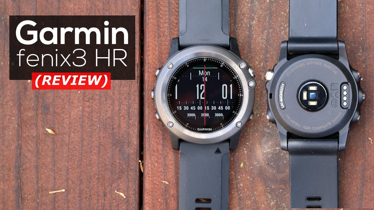 test garmin fenix 3 hr