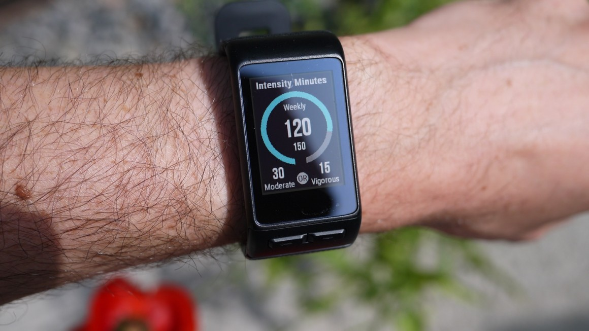 test garmin vivoactive hr