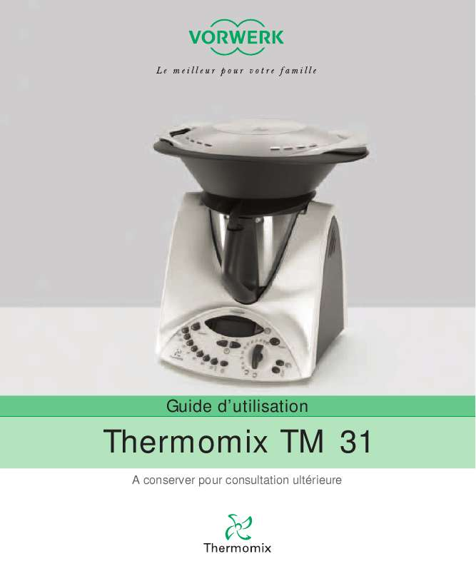 thermomix mode d emploi