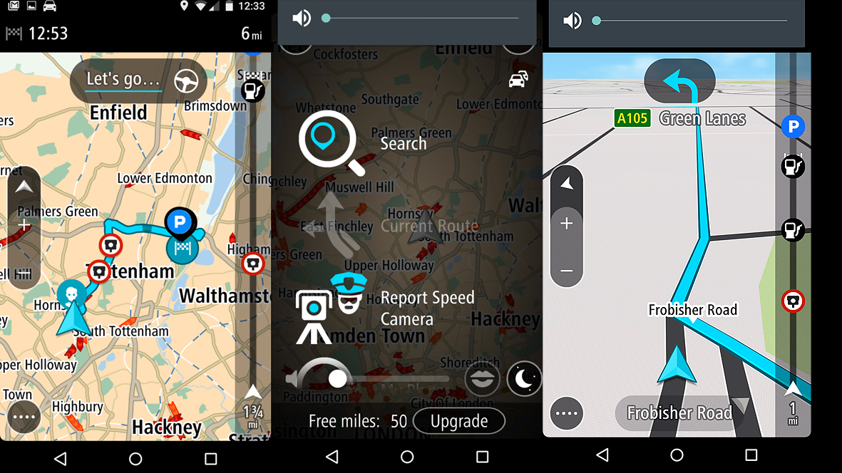 tomtom gps for android