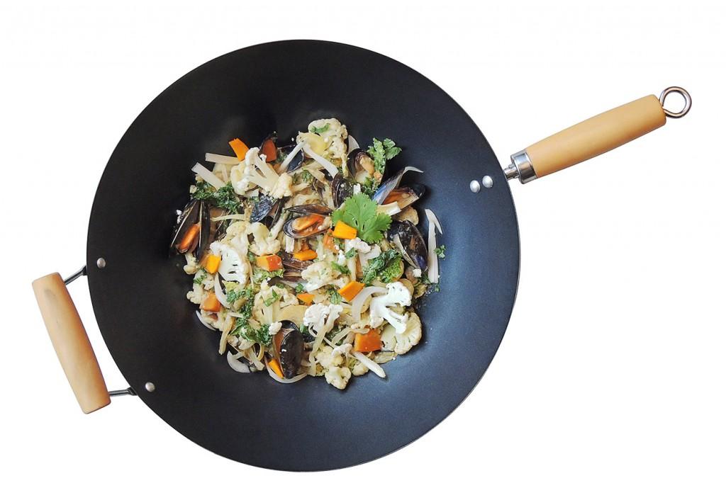 un wok