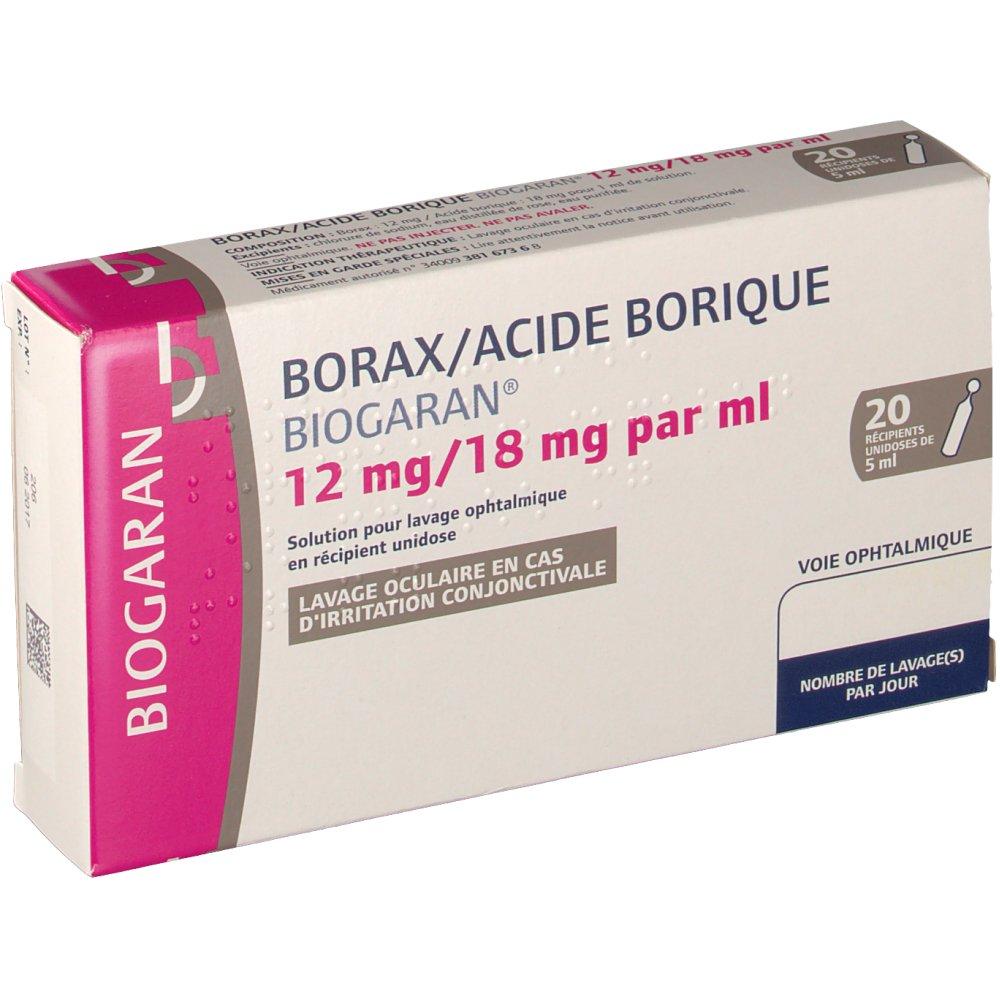 utilisation acide borique