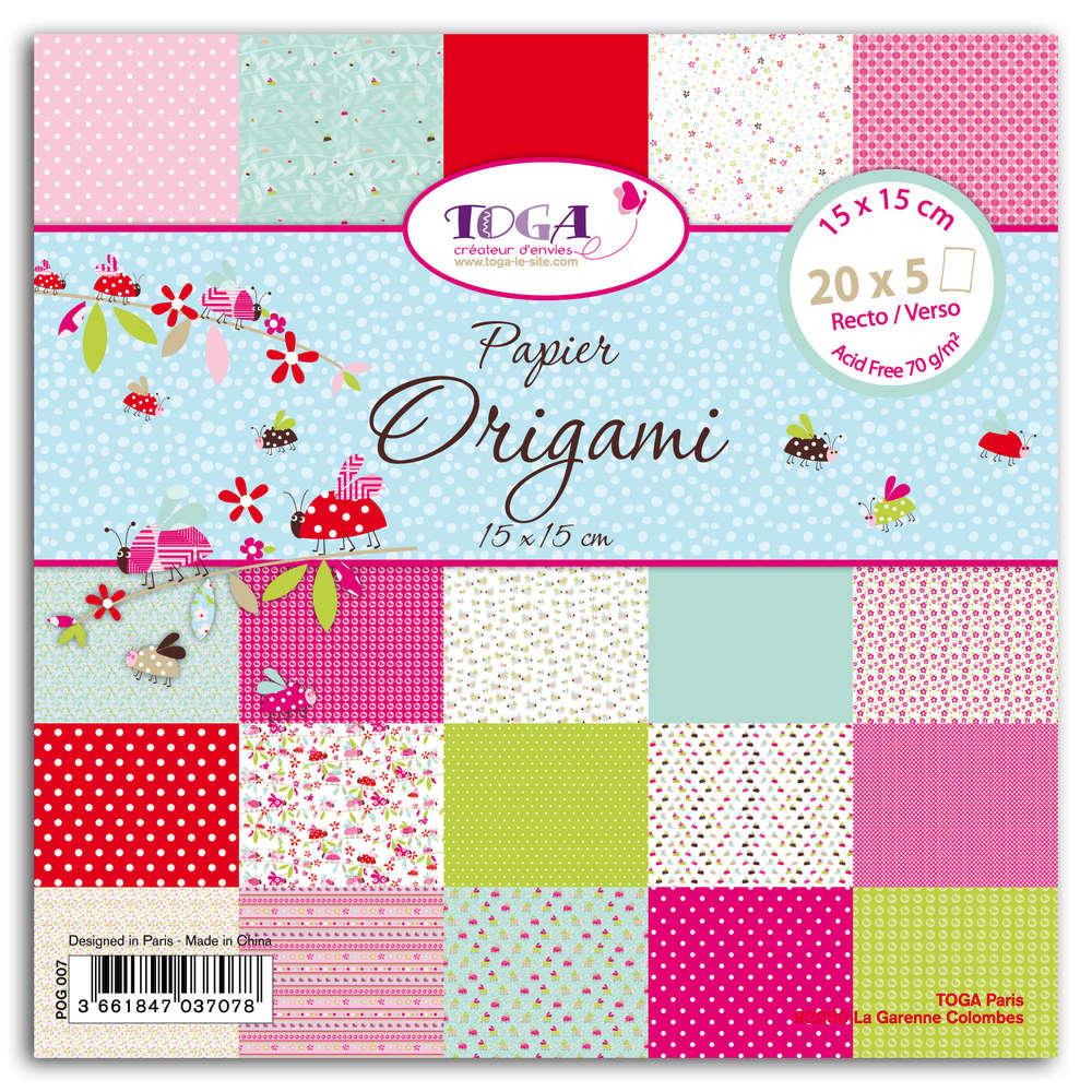 vente papier origami