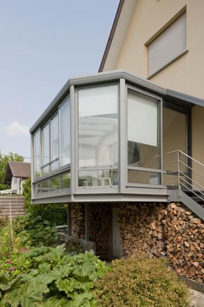 veranda suspendue