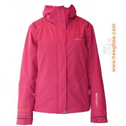 veste ski femme rose